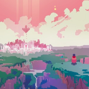 Screenshot of Hyper Light Drifter from Steam user 芊一.